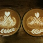 a rosetta a heart and 5 leaves tulip